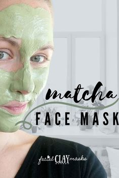 Anti-Aging Matcha Clay Mask Recipe for Youthful Skin Homemade Beauty, Diy Beauty, Beauty Makeup, Beauty Tips, Beauty Hacks, Matcha Face Mask, Best Skincare Products, Beauty Products, Clay Making