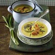 Kartoffel-Currysuppe mit Garnelen Rezept | LECKER