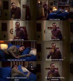 Oh Sheldon ...