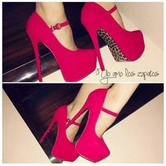 Increibles zapatos de moda de tacón alto para señoritas