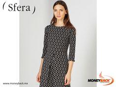 MONEYBACK MÉXICO. Este estupendo vestido de SFERA será tu favorito por su estampado geométrico y su bello corte para día o noche. ¡Visita SFERA en México y ahorra impuestos con Moneyback! #moneyback www.moneyback.mx