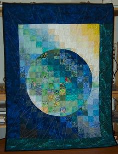 "Japanese Window 003  ""In The Beginning"""