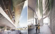 MEGA ULTRA WATER REFLECTIONS // marcel meili markus peter architekten nobel center headquarters designboom