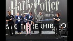 inaugurazione Harry Potter Exhibition  con i gemelli Weasley