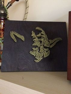 Yoda, Star Wars, string art