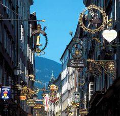 favorit place, shop area, salzburg austria, europ, visit, travel, citi, stylish salzburg, space
