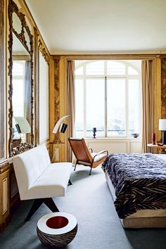 House tour: a stylish apartment with a sense of grandeur that belies its size…