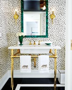 Problem: Our main floor powder room is teeny tiny and feels more like a closet - 9 bathroom design dilemmas and solutions