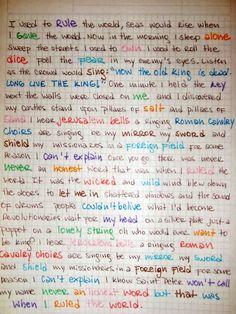 VIVA LA VIDA! I FREAKING LOVE THIS SONG!!!!