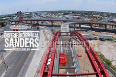 El #Abejorro capta el distribuidor vial #Sanders #Juarez #VIDEO