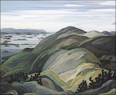 Franklin Carmichael-Group of Seven- Bay Of Islands