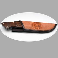 Wesley Muller Large Hunter - Root Stock Handle - Fixed Blade - Hunting Knives - Hunting