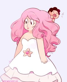 big mum small son | Steven Universe