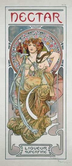 Alphonse Mucha - Plate 14 from ''Documents Decoratifs''
