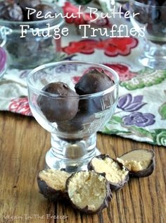 Peanut Butter Fudge Truffles are creamy and decadent on their own but why not cover them in chocolate and take these confections over the top?  So good!