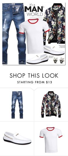 """Man's Style"" by oshint ❤ liked on Polyvore featuring men's fashion and menswear"