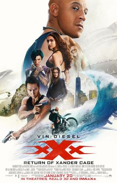 Vin Diesel, Donnie Yen, Deepika Padukone, Nina Dobrev, and Ruby Rose in xXx: Return of Xander Cage Director: D. Vin Diesel, Tony Jaa, Film D'action, Film Serie, Movie Film, Film Xxx, Movies And Series, All Movies, Watch Movies