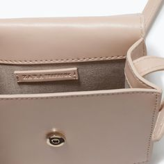 ZARA - SHOES & BAGS - MINI MESSENGER BAG $25.90 Polyurethane :(