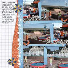 Imagination Pavilion Fountains - MouseScrappers.com