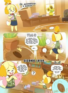 Because we all know that Isabelle wouldn't hurt a fly... ^_^