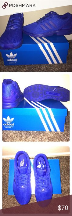 Adidas ZX Flux Adidas ZX Flux.                                                    Size 11 U.S.                                                              Only worn once                                                     With original Box Adidas Shoes Sneakers