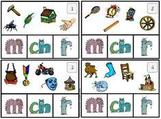 Jeu autocorrectif de formules magiques (cartapinces) Teaching French, School Hacks, Home Schooling, Educational Activities, Math Centers, Literacy, Alphabet, Animation, Conscience Phonémique