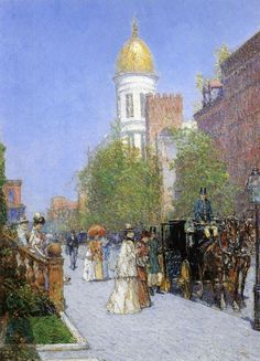 Frederick Childe Hassam  A Spring Morning  1892