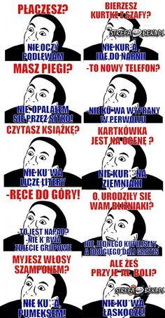 Stupid Funny Memes, Wtf Funny, Funny Cute, Hilarious, Memes Humor, Man Humor, Jokes, Polish Memes, Funny Mems