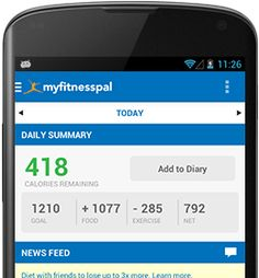 android app for calorie tracking