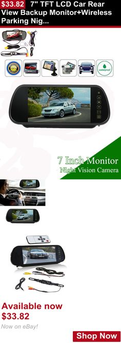 Memory Cards and Expansion Packs: 7 Tft Lcd Car Rear View Backup Monitor+Wireless Parking Night Vision Camera Kit BUY IT NOW ONLY: $33.82