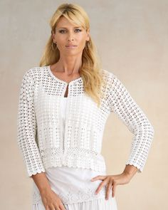 MyPicot | Free crochet patterns cardigan
