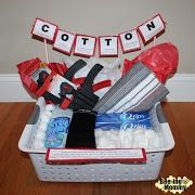 Cotton Anniversary Gift Basket plus several more gift ideas for your Second Anniversary
