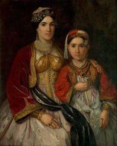 Katarina Ivanović (1811—1882), Serbia, Deca Pavla Stanišića, 1847. | ulje na platnu, 80 x 99 cm