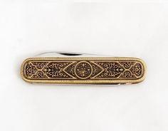 1960s Vintage German Folding Knife / Toledo Pocket Knife