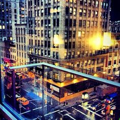 Our private #balcony views bring out the city's pretty lights.