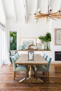 My Dream Dining Room Design Board. Check out this board for a gorgeous modern coastal dining room design plan for your inspiration! Dining Room Design, Farmhouse Dining Room, Beach House Decor, Dining Room Inspiration, Coastal Dining Room, Coastal Living Rooms, Tropical Home Decor, Home Decor, House Interior