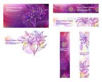 Purple Dream Lily Vector Korea