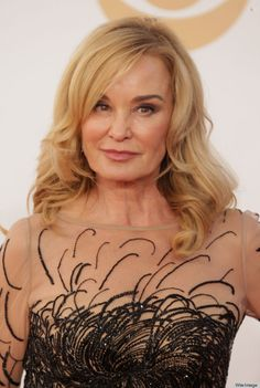 Jessica Lange, 64, at the Emmys.
