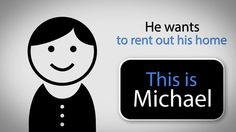 Michael wants to rent