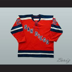 Gene Peacosh San Diego Mariners Hockey Jersey NEW Stitch Sewn Any Player or  Number. SHIPPING fe1632492