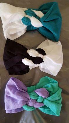 New (never used) - Turbantes de mallita para bebe