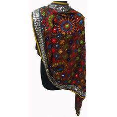 Hand embroidered Phulkari chunni or dupatta
