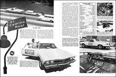 '68 el Camino SS396 test car
