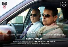 Lol. The Closer. Crush on Sanchez.