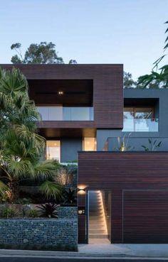 Trendy home luxury bedroom interior design 57 Ideas Best Exterior Paint, House Paint Exterior, Exterior House Colors, Modern Exterior, Exterior Design, Facade Lighting, Modern Lighting, Lighting Design, Apartment Interior Design