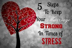 "Five Steps To Keep Your Marriage Strong In Times of Stress --- When you spoke those blessed words, ""I do,"" on that blissful day, I'm sure it seemed like nothing in the world could come between you and your new husband. It was you two against the world, and woe to any who would attempt to thwart your… Read More Here http://unveiledwife.com/five-steps-keep-marriage-strong-times-stress/ #marriage #love"