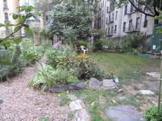The Upper West Side of NYC has a number of community gardens which are the perfect outdoor hiding places. Nyc Bucket List, Riverside Park, Upper West Side, Hiding Places, Central Park, Community, Street, Random, Garden
