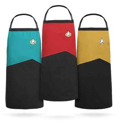 Boldly Cook With 'Star Trek: TNG' Uniform Aprons