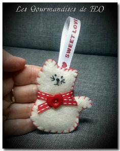 Valentine Crafts, Christmas Crafts, Christmas Decorations, Christmas Ornaments, Felt Crafts Diy, Cat Crafts, Catnip Toys, Felt Cat, Types Of Craft