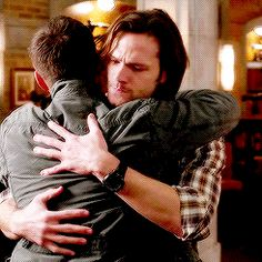 MOST AMAZING big brother moment!! Sam and Dean hug! season 8 episode 20